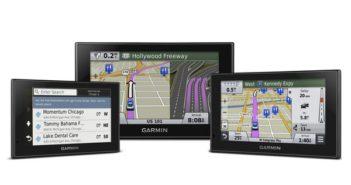 De nieuwe Garmin® nüvi® Advanced Serie met Foursquare® data en grote multi-touch displays