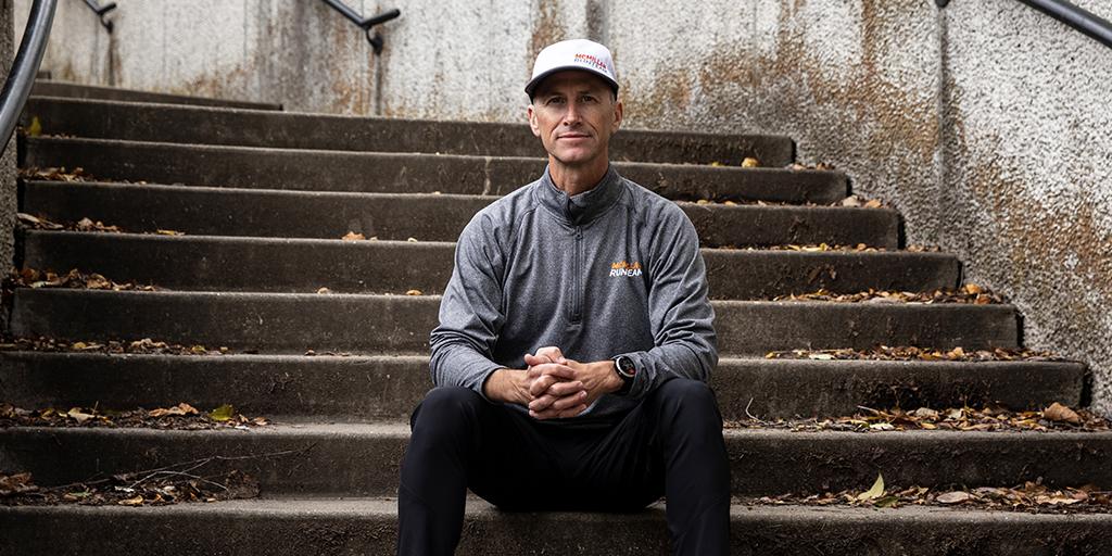 Portretfoto van Garmin Coach Greg McMillan