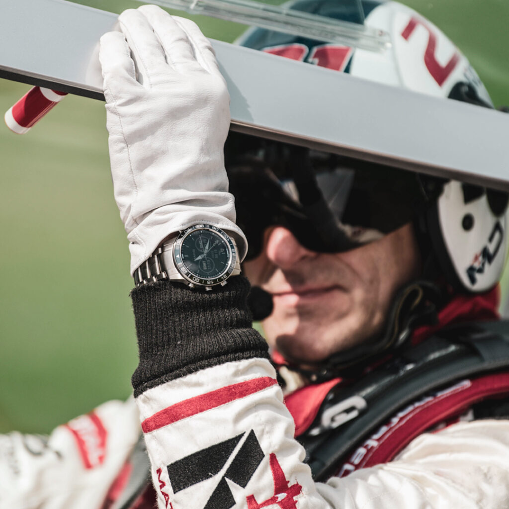 Horloge voor piloten van Garmin.